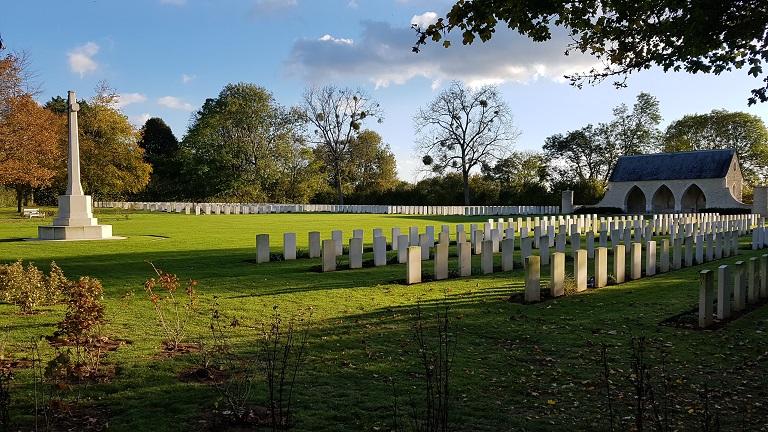 cimetière britannique de Hermanville sur Mer