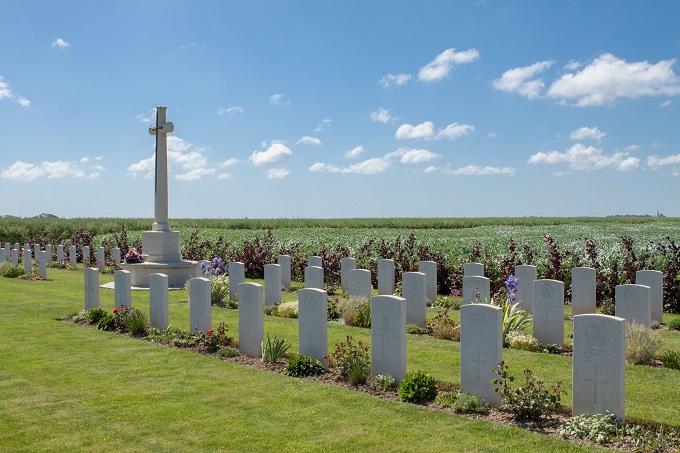 cimetière britannique de Secqueville-En-Bessin