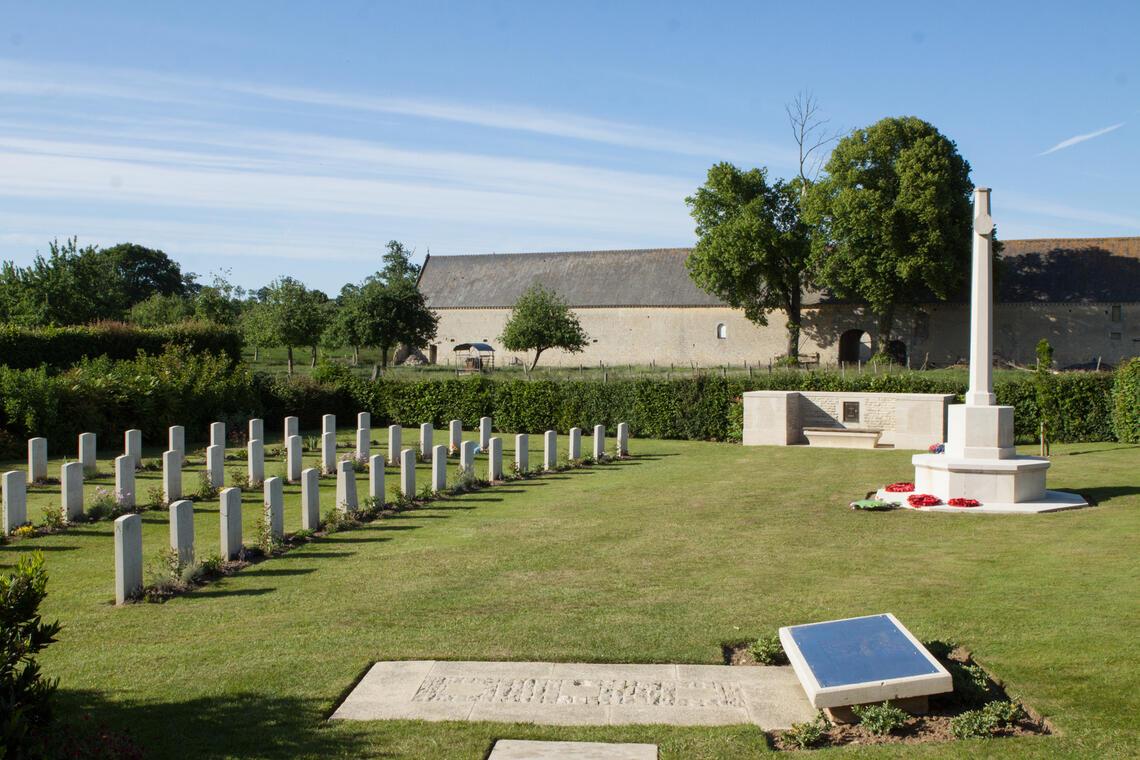 cimetière britannique de chouain