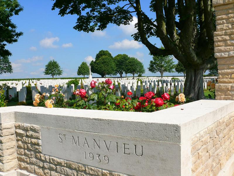 cimetière britannique de saint manvieu norrey