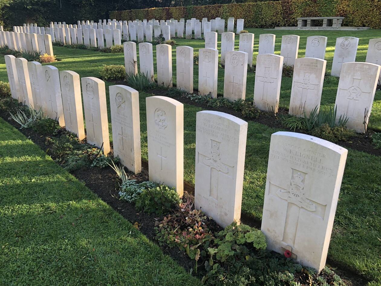 cimetière britannaique de tourgéville