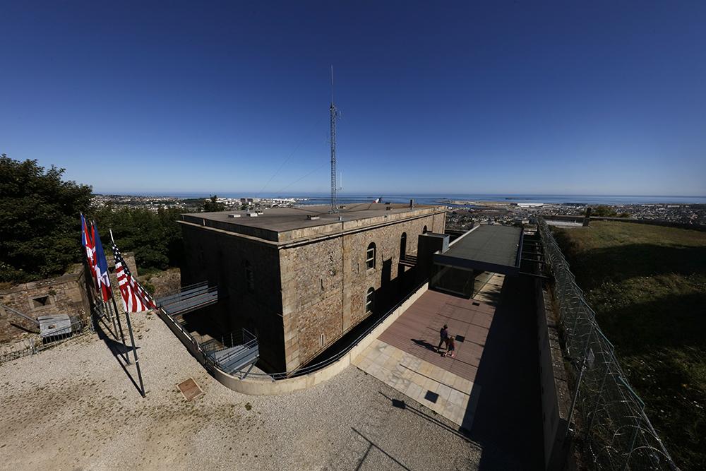 Musée de la libération Cherbourg - Fort du Roule